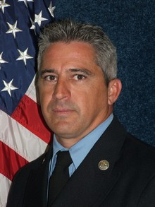 Battalion Chief Rob Carroll