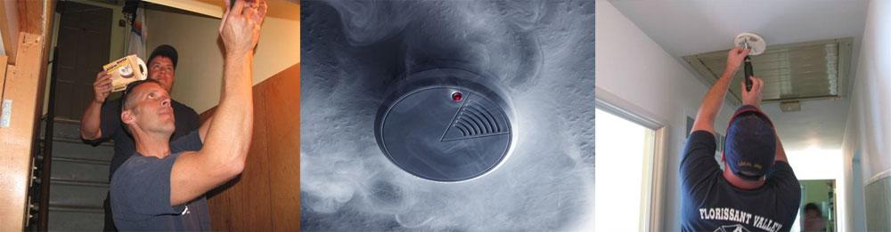 Smoke detector installations