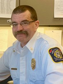 Battalion Chief Russ Kleffner
