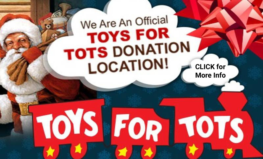 Toys for Tots donation location